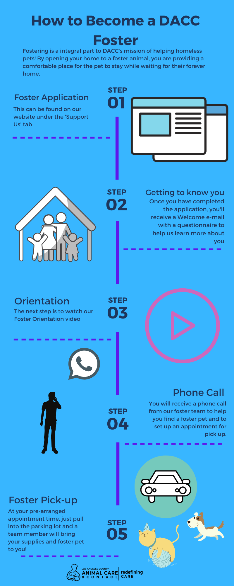 How to Become a DACC Foster